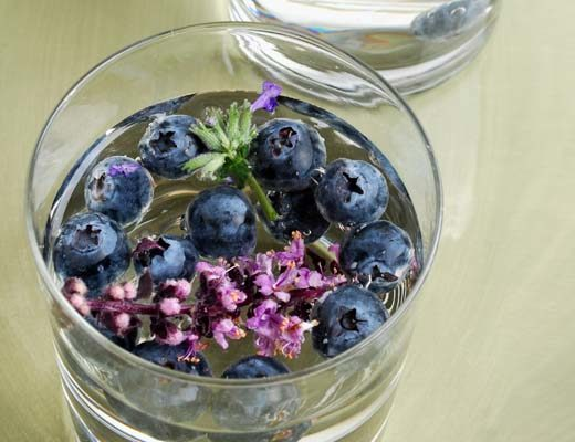 We've already gone over how awesome blueberries are, but the lavender in this helps soothe your mind and body.
