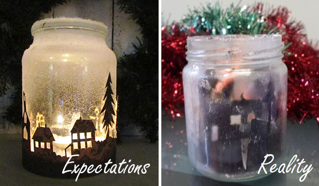 1 sooo it ended up being a halloween candle - Pinterest Christmas