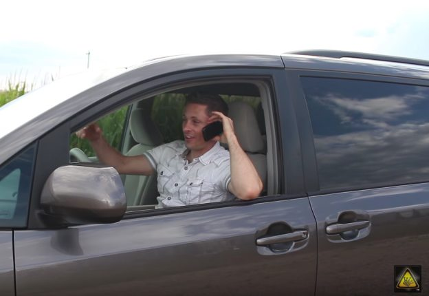 Roll down your car windows if you don't have a signal -- it can go a long way to helping you stay connected.