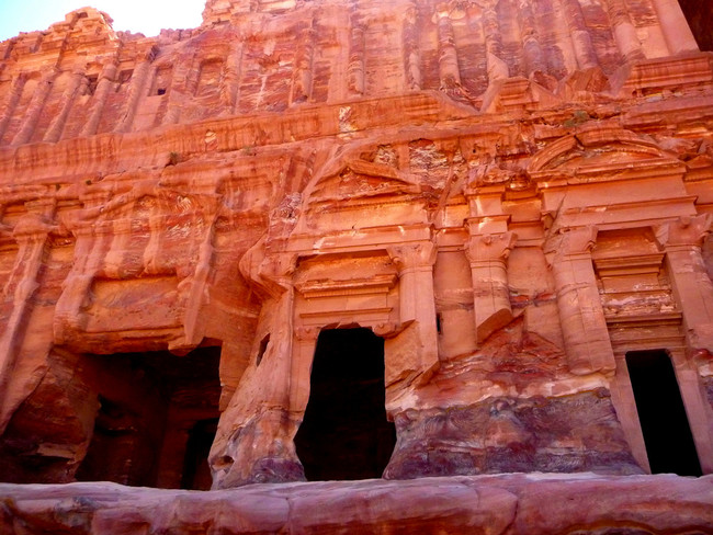 Explore Petra's preserved chambers.