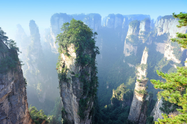 Explore Zhangjiajie National Forest Park, the place that inspired much of <em>Avatar</em>'s scenery.