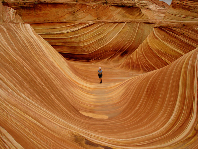 """Surf"" The Wave in Arizona."