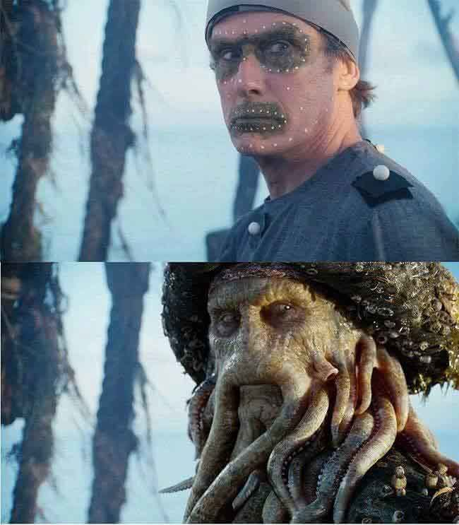 The work that is done on the set of the Pirates of the Caribbean films is flawless.