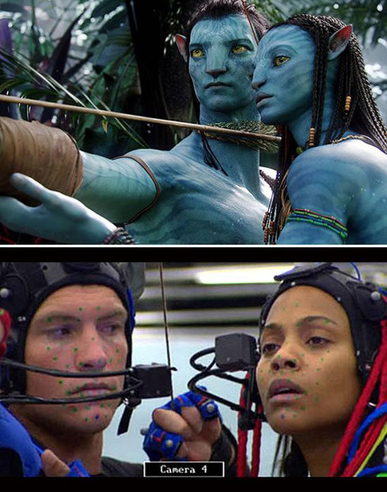 So they didn't paint themselves blue for Avatar? You learn something new every day.